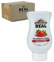 Real Strawberry Puree Infused Syrup, 16.9 fl. oz