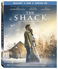 THE SHACK - [BLU-RAY/DVD COMBO PACK] - NEW UNOPENED - SAM WORTHINGTON