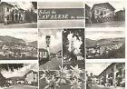 160587 TRENTO CAVALESE - SALUTI da... VEDUTINE - EDELWEISS Cartolina FOTOGRAFICA