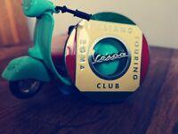 PIAGGIO VESPA  Italian Club badge - scooter badge - motorcycle badge