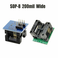 200mil SOIC8 SOP8 to DIP8 Programmer Adapter Socket Converter Module Blue/Green