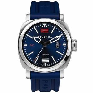 Panzera Men's Atlantic Blue Pioneer MK2 45mm Watch A45-01BSR5 RRP £385.00