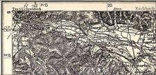 Carta del Reich tedesco, 644 Friburgo i. Br., 1:100.000, 1940 stampato