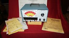 2 pces....Heath kit engine analyzer & timing kit