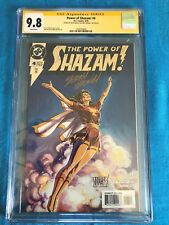Power of Shazam! #4 - DC - CGC SS 9.8 NM/MT - Signed by Jerry Ordway, Manley