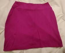 Susana Monaco Mini Skirt, Fuchsia, XS Nylon Lycra