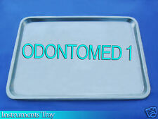 "NEW STAINLESS STEEL INSTRUMENT TRAY MEDICAL DENTAL TATTOO 13 5/8"" x 9 3/4""x 5/8"""
