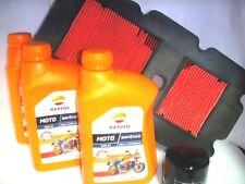 Kit Inspección Aceite REPSOL Sintético 10W-40 + Filtros De Honda Transalp 650