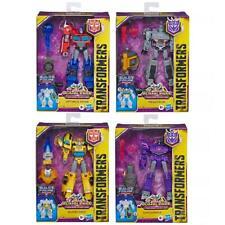 Transformers Cyberverse Adventures DELUXE Wave 1 Bumblebee Megatron Optimus MISB