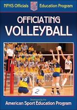 Officiating Volleyball (Nfhs Officials Education Progr)