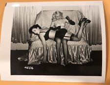 4 X 5 ORIGINAL NEGATIVE PHOTO FROM IRVING KLAW ARCHIVES Spanking Series # 4556