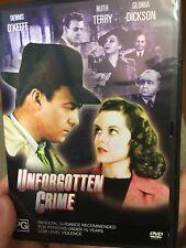 Unforgotten Crime region 4 DVD (1942 movie)