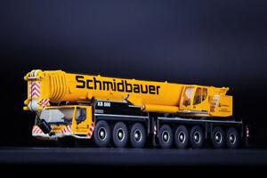 IMC Models 33-0153 Schmidtbauer Liebherr LTM 1450-8.1 Mobile Crane 1:87
