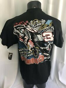 Vintage Dale Earnhardt Right To Remain Intimidated Shirt Large Made in USA NWT
