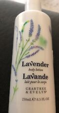 Crabtree & Evelyn Body Lotion, Lavender 8.5oz  BRAND NEW Ships Free