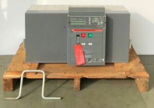 ABB SACE E6H 50 SACE EMAX CIRCUIT BREAKER 5000 AMPS #THERE ARE MINOR CRACKS