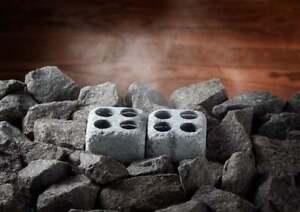 Sauna steam stones, steam generator, humidifier