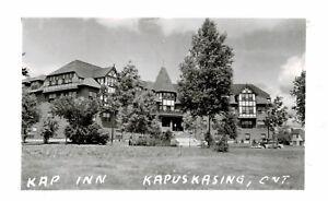 RPPC,Kapuskasing,Ontario,Canada,Kap Inn,c.1945-50s