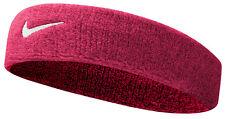 Ladies Womens Pink Nike Swoosh Sports Headband Sweatband