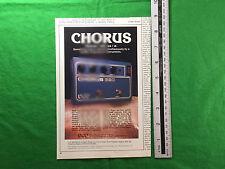 DOD Chorus 690 effetti unità annuncio da luglio 1980