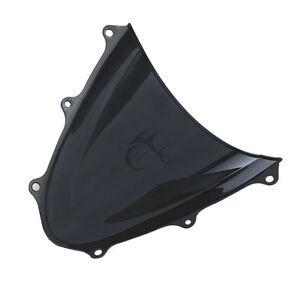 Motor Windscreen Windshield Fit For Suzuki GSXR 600 GSX-R 750 11-17 Dual Bubble