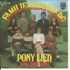 7'Familie (MARIANNE) Rosenberg  >Pony Lied/Dong Ding Dong<  RAR!! TOP!!