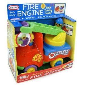 FUN TIME Baby Push Along Fire Engine 18m+