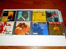 Lot of 8 Charlie Parker + Thelonious Monk Jazz Masters* Cds Rare & Oop Fast Ship