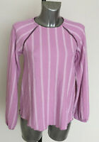 M&S Collection Size 8 Lilac Long Sleeve Top Blouse Bnwt