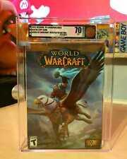 World of Warcraft  - Blizzard - VGA - graded - 70 - NO WATA