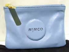 NEW RELEASED MIMCO POUCH MIM POUCH MIST BLUE SMALL NEW WITH TAG RRP $69.95