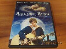 August Rush (DVD, 2007, Widescreen/Full Frame)  Robin Williams