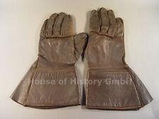 Luftwaffe FLIEGERHANDSCHUHE, Stulpen-Handschuhe, braunes Leder, 73825