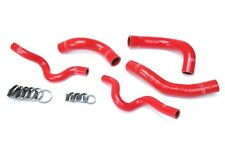 HPS Red Silicone Radiator Hose Kit Coolant OEM Replacement 57-1630-RED
