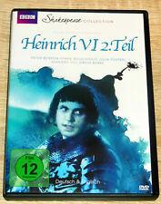 Heinrich VI 2.Teil (1983) Shakespeare, Peter Benson, Julia Foster, DVD, gebr.