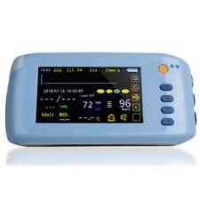 Portable Palm 5 Parameter Patient Monitor Vital Signs Ecg Nibp Spo2 Pr Hospital