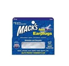 Macks MACK'S #13 Swimming Silicone EAR PLUG AQUA BLOCK Earplugs Putty NEW 2prs