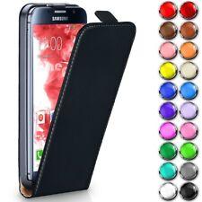 Galaxy Handyhülle Flip Case Ultra Slim Schutz Hülle Bumper Handy Tasche Zubehör