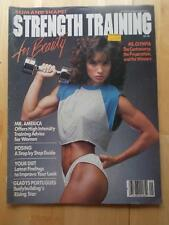 STRENGTH TRAINING FOR BEAUTY #2 female muscle magazine/GLADYS PORTUGUES 3-84