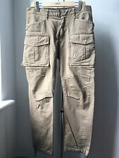 Very Cool DSQUARED medium weight cotton khaki trousers IT 46