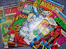 Micronauts 28 29 32 34 LOT FOUR Marvel comics APRIL MAY OCT 1981 modern age MORE
