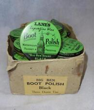 c.WW2 British Military Lanes 'Big Ben Brand' Tinned Leather Boot Polish