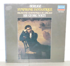 BERLIOZ Symphonie Fantastique Chicago SOLTI LP VINYLE 33T 591084 Decca 1972