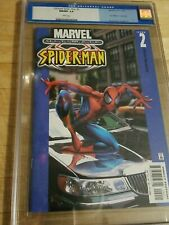 Ultimate Spider-Man#2 CGC 9.8 WP Car Variant First Print