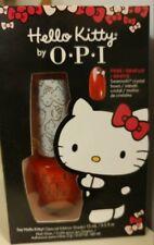 Say Hello Kitty! Opi Nail Polish (Special Edition Shade) Swarovski Crystal Bows