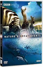 NATURE'S GREAT EVENTS (2009): BBC TV Series - David Attenborough - NEW DVD UK