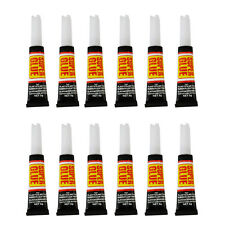 Super Glue Extra Strong Liquid Adhesive Rubber Metal Glass Plastic Ceramics Wood