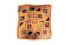 """Handmade   SQUARE 16""""   Cushion Cover Indian Cotton Pillow (25)"""
