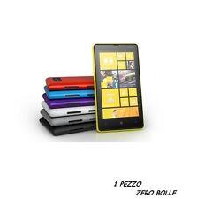 1 Pellicola OPACA per Nokia Lumia 820 Protettiva Pellicole MATT ANTIMPRONTA