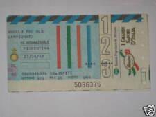 INTER - FIORENTINA TICKET BIGLIETTO 1992/93 SERIE A
